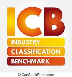 頭字語, 分類, -, 産業, icb, 基準