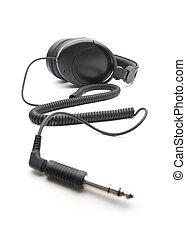 頭戴收話器