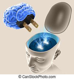 頭腦, 開關