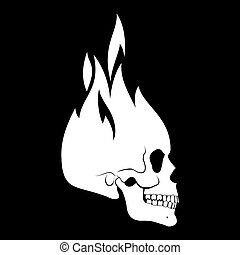頭骨, アイコン
