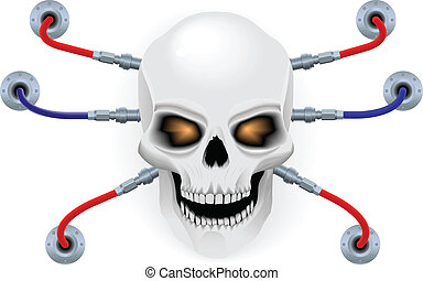 頭骨, biorobot