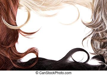 頭髮, 結構
