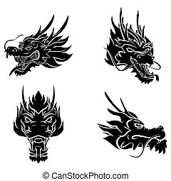 頭, ドラゴン