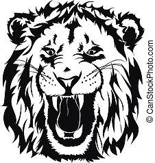 頭, ライオン
