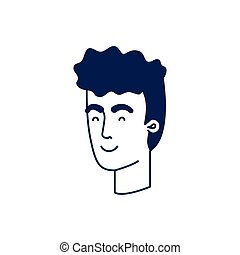 頭, 特徴, avatar, 人