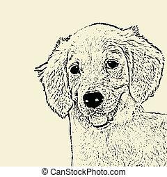 頭, 犬, ポスター
