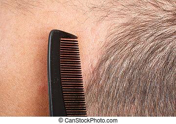 頭, comb., 人