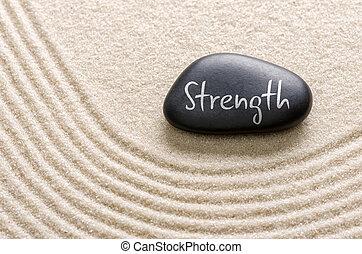 題字, 石頭, 力量, 黑色