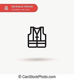 顏色, 完美, 符號, 背心, 現代, 网, stroke., ui, 項目, 簡單, 設計, 圖象, 插圖, icon., 事務, 你, element., 流動, editable, 樣板, 矢量, pictogram