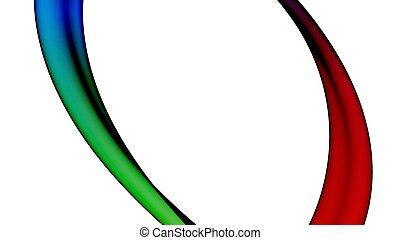 顏色, 摘要, 作品