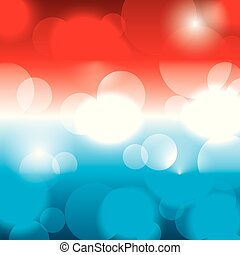 顏色, 旗, 美國人, 被模糊不清, 發光, 背景