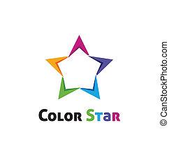 顏色, 星