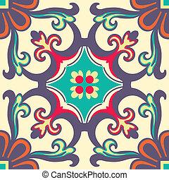 顏色, 瓦片, 裝飾品, seamless