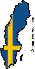 顏色, ......的, 瑞典