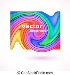 顏色, 背景。, 摘要, 矢量, 插圖