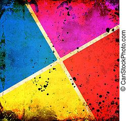 顏色, 葡萄酒, 正方形