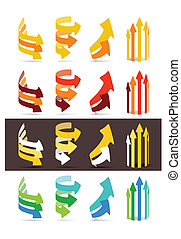 顏色, 集合, 箭