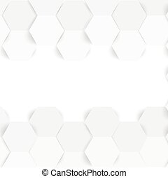 顏色, hexagonal., 摘要, 矢量, 3d