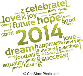 願い, 新年