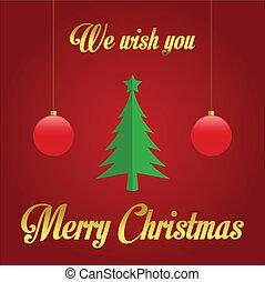 願い, 私達, あなた, メリークリスマス
