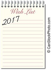 願い, 2017, リスト