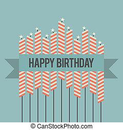 願い, birthday, レトロ