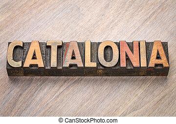類型, 摘要, 木頭, 詞, catalonia