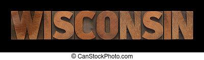 類型, 木頭, 老, 威斯康星