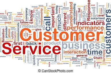 顧客服務, 背景, 概念