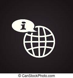 顧客, 世界的である, 黒い背景, サービス