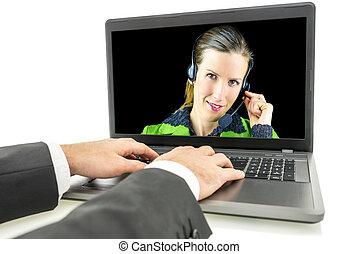 顧客, 女, 中心, 取得, 呼出し, 質問