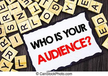 顧客, 木, クライアント, 概念, ターゲット, ビジネス, 単語, question., skicky, 聴衆, 研究, メモ, バックグラウンド。, 書かれた, ペーパー, サービス, テキスト, 執筆, あなたの