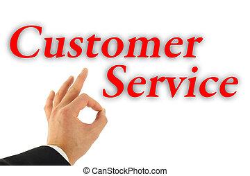 顧客, 概念, サービス, 優秀である
