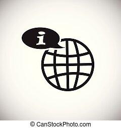 顧客, 白, 世界的である, 背景, サービス