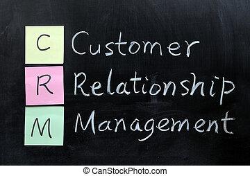 顧客, 管理, crm, 関係