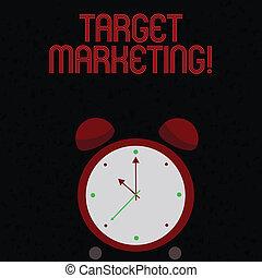 顧客, segmentation, marketing., ターゲット, テキスト, 提示, 印, 聴衆, 写真, 概念, 目標とすること, selection., 市場