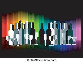 颜色, 酒吧