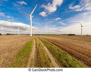 風タービン, タービン, エネルギー, 力
