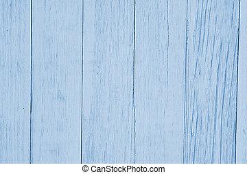 風化, 淡藍, textured, 木頭, 背景
