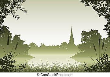 風景, ∥で∥, 教会