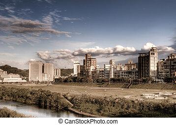 風景, 城市