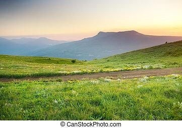 風景, 山