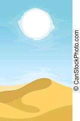 風景, 砂漠, 背景