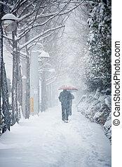 風景, 雪が多い