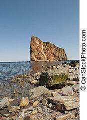 風景,  Perce, 岩石