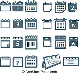 風格, 网, 不同, 圖象, 彙整, 日曆