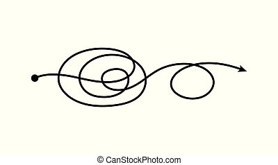 風格, 點, 雙, 一, 去, 處於混亂狀態, 箭, 心不在焉地亂寫亂畫, 線, 混亂狀態, 雜文, 圈