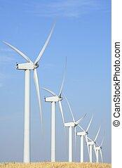風車, 内側を覆われた