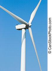 風車, 電気, 力, 風