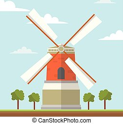 風車, netherlands